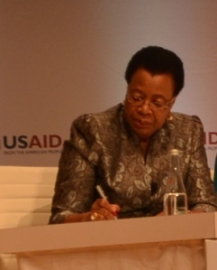 Graça Machel, Founder, Foundation for Community Development, Mozambique; Founder, Graça Machel Trust.